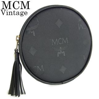 エムシーエム(MCM)のMCM ヴィンテージ ロゴグラム PVC コインケース 小銭入れ 財布(コインケース)