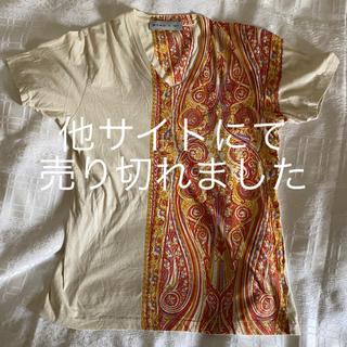 エトロ(ETRO)のETRO エトロ ペイズリー柄 Tシャツ(Tシャツ/カットソー(半袖/袖なし))