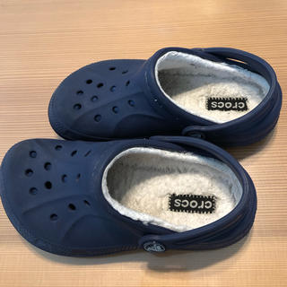 crocs - クロックス キッズ ボアサンダル 12,13