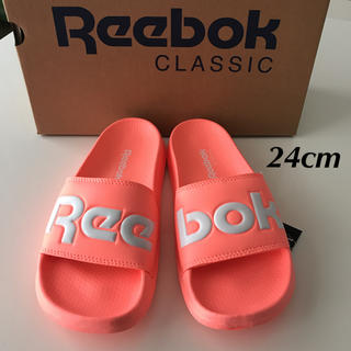 Reebok - 【定価4389円】Reebok リーボック シャワーサンダル ネオンカラー 24