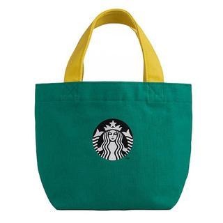 スターバックスコーヒー(Starbucks Coffee)のスターバックス:トートバッグ ドット柄  ロゴ 台湾 スタバ(エコバッグ)