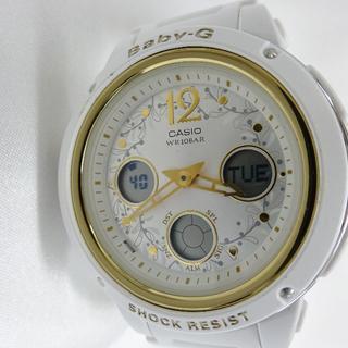 ベビージー(Baby-G)のCASIO G-SHOCK Baby-G 白 WR10BA 5257(腕時計(デジタル))
