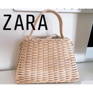 ZARA - かごバッグ ZARA  ショルダーバッグ ザラ
