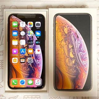 アイフォーン(iPhone)の【S】iPhoneXS/64/SIMフリー(スマートフォン本体)