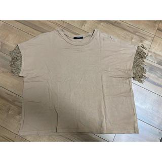 ムルーア(MURUA)のMURUA フリンジTシャツ(Tシャツ(半袖/袖なし))