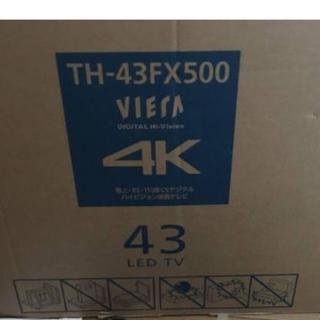 保証有 パナソニック 43V型 4K液晶テレビ TH-43FX500
