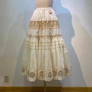 ピンクハウス(PINK HOUSE)のピンクハウス  スカート 定価4万9500円(ロングスカート)