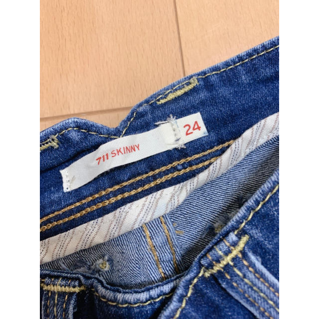 Levi's(リーバイス)のリーバイス 711スキニー レディースのパンツ(デニム/ジーンズ)の商品写真