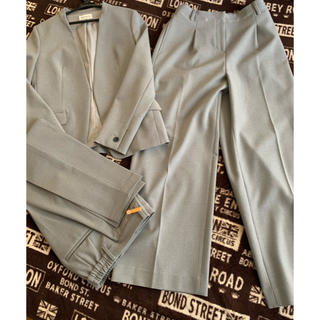 PLST - PLST パンツスーツ 3点セット