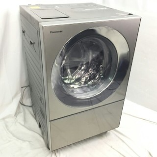Panasonic - Panasonic Cubleななめドラム洗濯乾燥機洗濯:10 kg乾燥:5kg