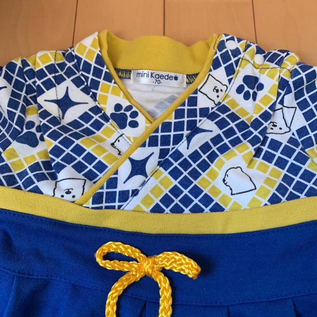 袴ロンパース キッズ/ベビー/マタニティのベビー服(~85cm)(ロンパース)の商品写真