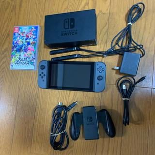 Nintendo Switch - 【中古】Nintendo Switch 本体 & スマブラ