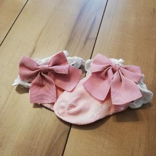Shirley Temple - シャーリーテンプル でかリボン靴下