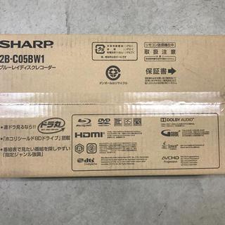 SHARP - 5台【新品未開封】SHARP AQUOS レコーダー  2B-C05BW1