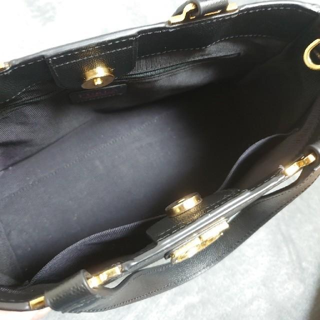 Furla(フルラ)のFURLA フルラ ハンドバック ブラック レディースのバッグ(ハンドバッグ)の商品写真