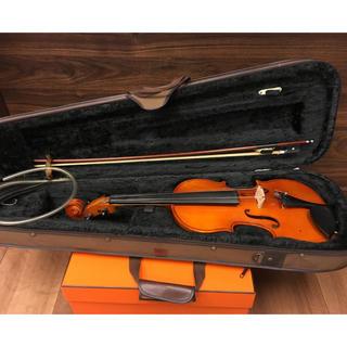 送料込み 現状特価 【詳細不明】中国製 バイオリン ケース付き