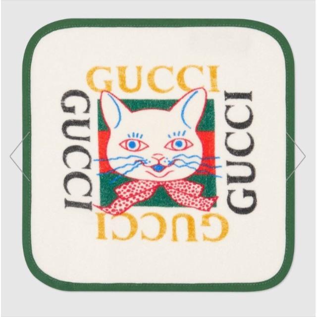 Gucci(グッチ)のヒグチユウコ × GUCCI ☆ チルドレンズ 日本限定 ハンカチーフ キッズ/ベビー/マタニティのこども用ファッション小物(その他)の商品写真
