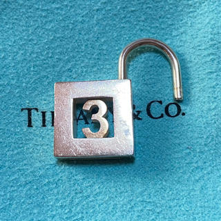 Tiffany & Co. - Tiffany ティファニー カデナ パドロック 南京錠 3 シルバー