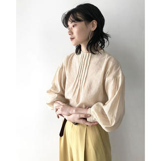 TODAYFUL - TODAYFUL トゥデイフル 20春夏 Pintuck Dry Blouse
