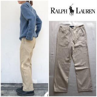 ラルフローレン(Ralph Lauren)のビンテージ ラルフローレン ストレートチノパンツ 11 大きいサイズ(チノパン)