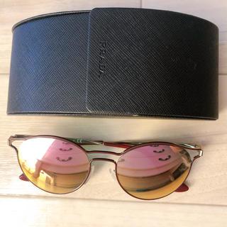 PRADA - プラダ ミラーサングラス ピンク