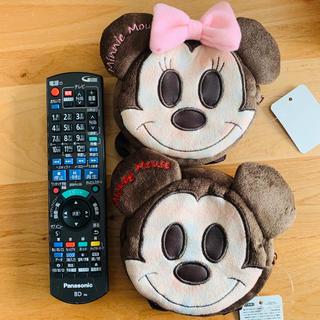 ディズニー(Disney)のペア❣️【ディズニー】ミッキー&ミニー ベルトポーチ(キャラクターグッズ)