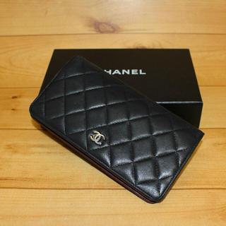 CHANEL - 正規品【定番人気】CHANEL マトラッセ  長財布