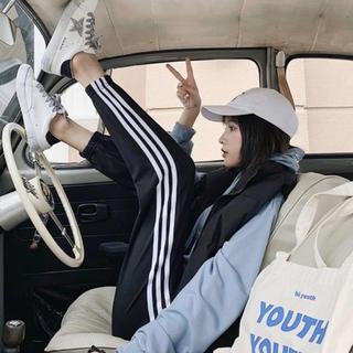 GYDA - ジャージ スウェット ラインパンツ トラックパンツ ジョガーパンツ