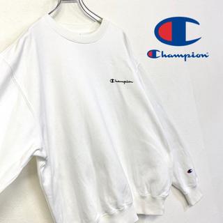 Champion - 美品 champion スウェット 刺繍 筆記体ロゴ トレーナー