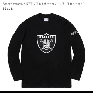 Supreme - Supreme NFL Raiders'47  シュプリーム サーマル