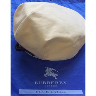 バーバリーブルーレーベル(BURBERRY BLUE LABEL)のBURBERRY  BLUE LABEL ハンチング帽(ハンチング/ベレー帽)