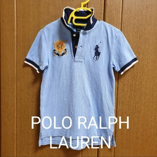 ポロラルフローレン(POLO RALPH LAUREN)の美品POLO RALPH LAUREN 110サイズポロシャツ(Tシャツ/カットソー)
