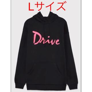 ZARA - 新品・完売品 ZARA✕DRIVE パーカー ブラック ピンク 黒