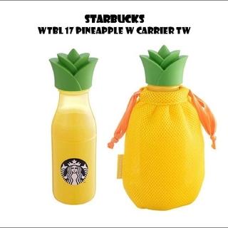 Starbucks Coffee - スターバックス パイナップル サニーボトル 巾着付き🍍