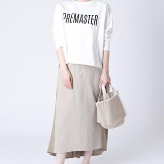 スコットクラブ(SCOT CLUB)の [MAITRESSE] サイドボタン 異素材スカート(ロングスカート)