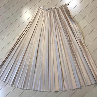 ノーブル(Noble)のプリーツスカート (ロングスカート)