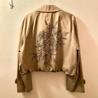 RAF SIMONS - ショート丈 花柄 リメイクジャケット