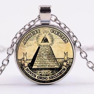 フリーメイソン 秘密結社 ピラミッド ネックレス 開運ネックレス