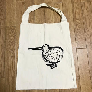 イデー(IDEE)の【mimimiさん専用】IDEE 定番ダブルトートバッグ キウイ(鳥)柄 美品(トートバッグ)