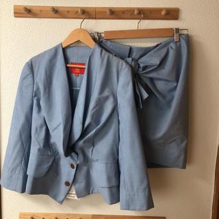 Vivienne Westwood - 新品 ヴィヴィアンウエストウッド スーツ テーラードジャケット スカート ブルー