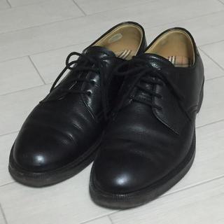 BURBERRY - BURBERRY/バーバリー 革靴 ブラック
