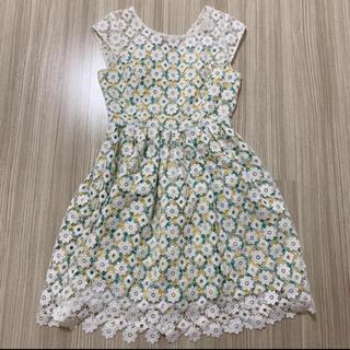 Lily Brown - ♡lilybrown♡阪急限定♡レア💕刺繍チェックワンピース