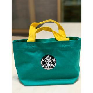スターバックスコーヒー(Starbucks Coffee)のスターバックス スタバ 海外台湾 2020夏 ドットのトートバッグ(トートバッグ)
