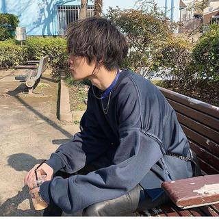 SUNSEA - YOKE JOHN 別注 スウェット S ヨーク
