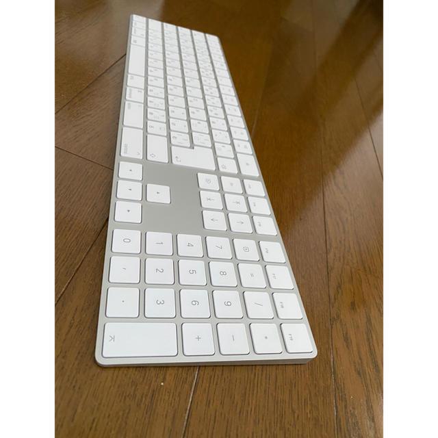 Apple(アップル)のApple magic keyboard テンキー付  スマホ/家電/カメラのPC/タブレット(PC周辺機器)の商品写真