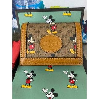 Gucci - 今季 新品 Disney × GUCCI ミッキーマウス 財布 グッチ ミッキー