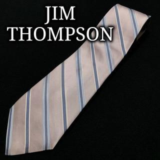 ジムトンプソン(Jim Thompson)のジムトンプソン レジメンタル ライトパープル ネクタイ A103-Z13(ネクタイ)