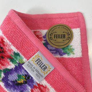 FEILER - フェイラー 新品  ピンク色