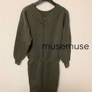 muse muse - musemuse ニットワンピース
