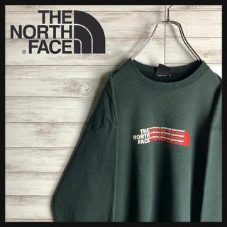 THE NORTH FACE - 【大定番】ノースフェイス星ビッグロゴ入りスウェット 袖ワンポイント ビッグサイズ